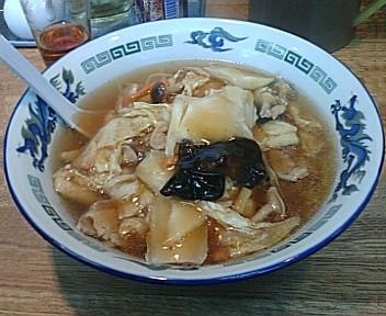 古稀楼 五目あんかけ麺