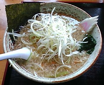 ガキ大将柏崎店 コテコテラーメン+白髪ねぎ