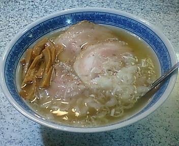 じじ&ばば 塩チャーシューメン