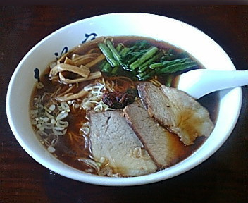 大江戸県庁前店 醤油ラーメン