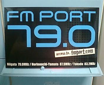 FM-PORTステッカー