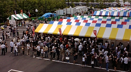 新潟ラーメン博 2日目 店舗