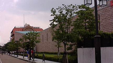 インスタントラーメン発明記念館 外観