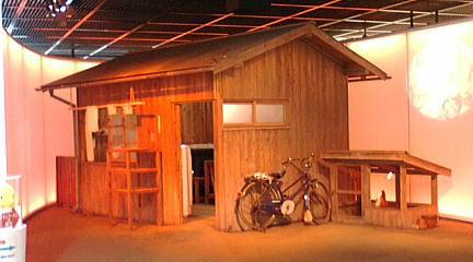 インスタントラーメン発明記念館 チキンラーメン発明小屋