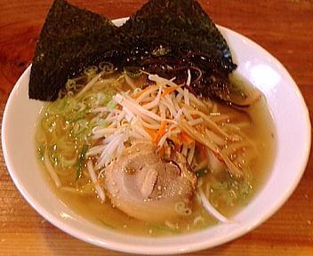 一 塩麺(大盛)