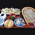 松苧 ざるそばと山菜天ぷら