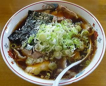 青島司菜ときめき チャーシューメン(大盛)+刻みねぎ