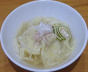 Kinsan 冷やしわんたんゆず塩麺(並盛)