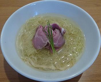 Kinsan 佐渡産のどぐろだし塩麺(大盛)