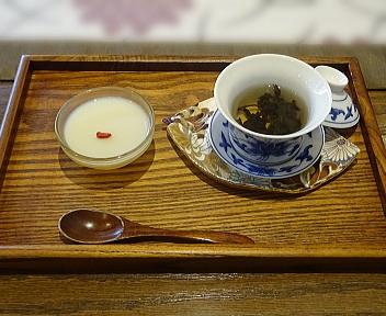 茶趣茶樂 ランチセット(mini烏龍茶ゼリー+烏龍茶)