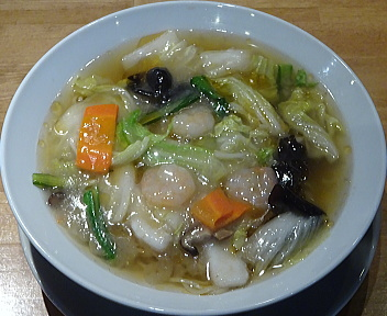 愛心村上店 海鮮麺