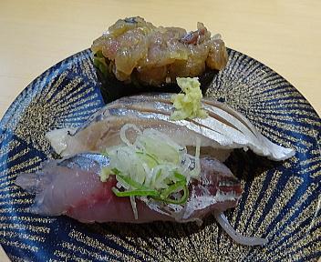 ことぶき寿司亀田店 アジ三昧
