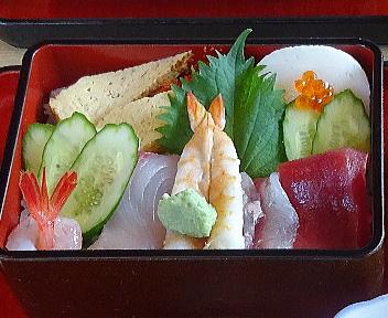 葵寿司 ちらしセット アップ