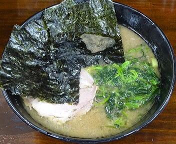のぶ家 ラーメン(細麺・紅生姜抜き)