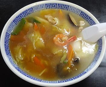 紫竹苑 うま煮あんかけラーメン