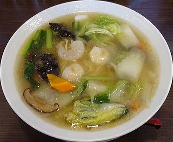 愛心河渡本店 海鮮麺