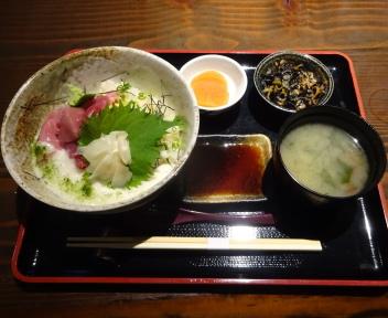 鮪びと 生マグロ丼セット(大盛)