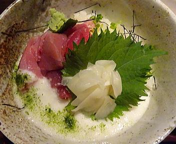 鮪びと 生マグロ丼セット(大盛)アップ