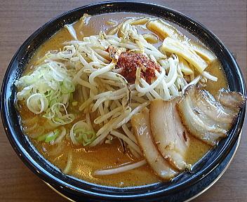 赤シャモジ桜木店 味噌ラーメン(大盛)