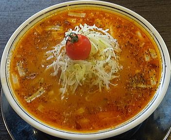 まっくうしゃ笹口店 トマトチーズ麺