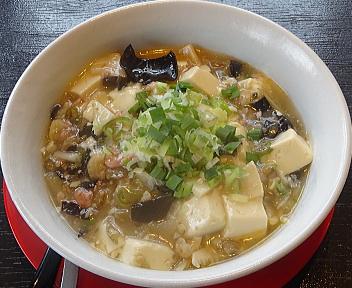 麻婆会館南笹口店 白麻婆麺
